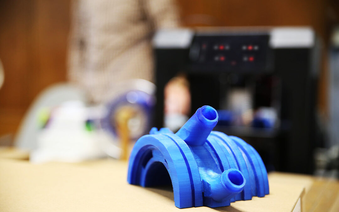 V&P Hydraulics Incorporates 3D Printing
